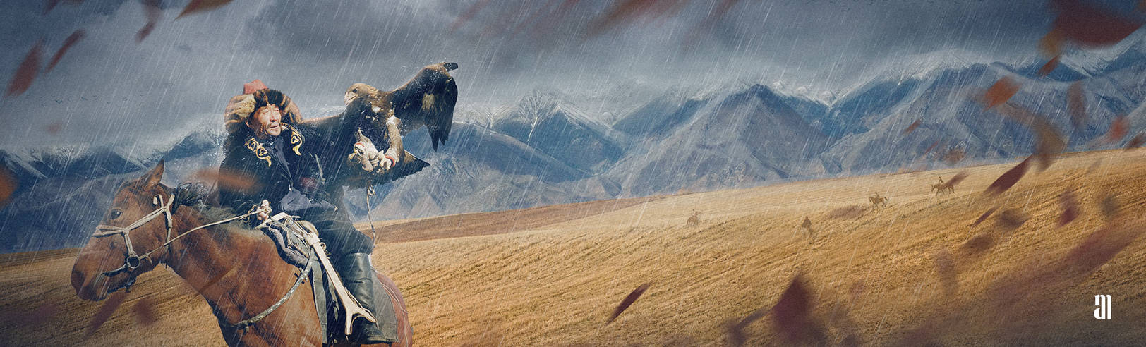 Wind on the Steppe by Gejda