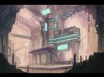 Sci-fi Environmental speedpaint #2