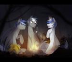 Royal guards campfire