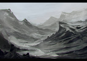 the mountain of weh by Keponii
