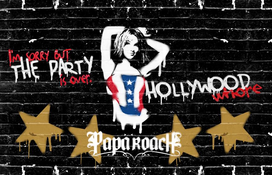 Papa Roach wallpaper - H whore by tavinhovid