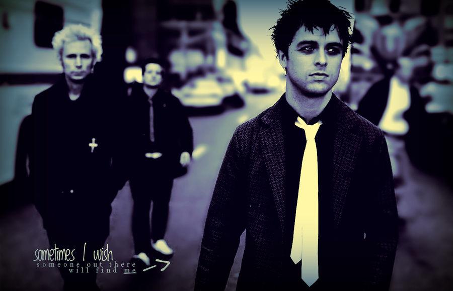 Green Day - Broken Dreams wall