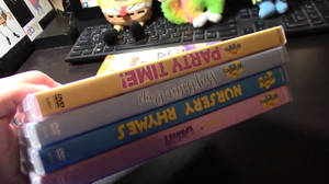 4 Wiggles DVDs