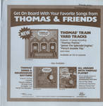 Thomas and Friends CDs Advertisement