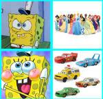 Spongebob likes Cars but hates DP
