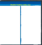 Double Feature 4 disc set template