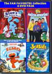 The Fan Favorites 4 DVD Pack Vol. 10