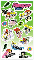 Powerpuff Girls Stickers (V2)