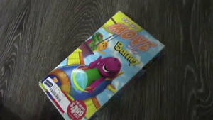 On the Move with Barney VHS