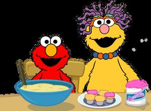 Elmo and Mommy (ESC) Vector (V2)