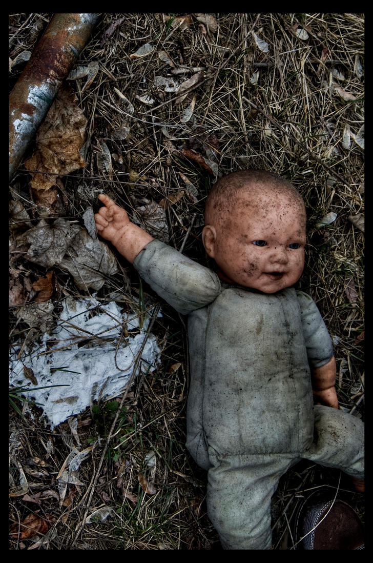 Creepy Baby Doll by DirtHat