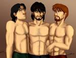 Machos Triumvirate Part III by Abadir