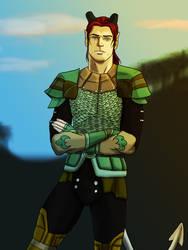 Commission - Valen Shadowbreath by Abadir
