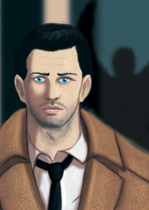 Supernatural - Castiel by Abadir