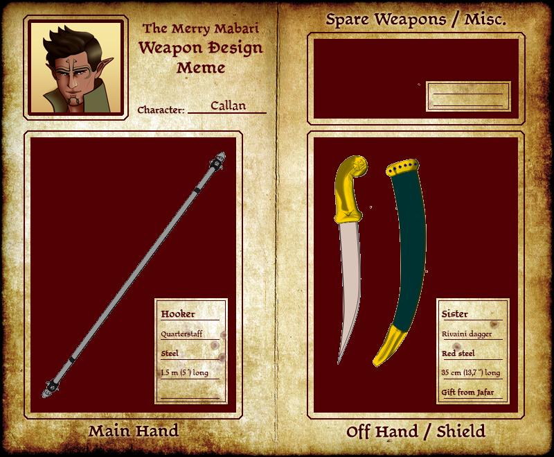 Callan Weapon Meme by Abadir