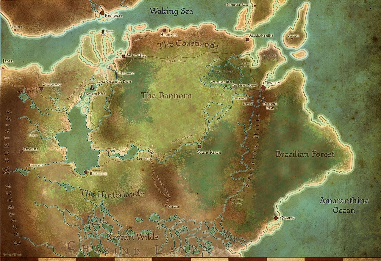Tmm Ferelden Map Reference By Abadir On Deviantart