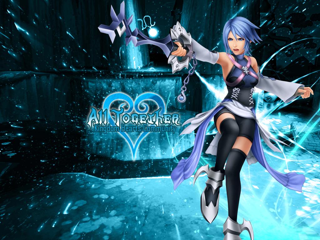 Kingdom Hearts Aqua Wallpaper Aqua Kingdom Hearts Wa...
