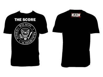The Score T-shirt 2 by rockandrolla