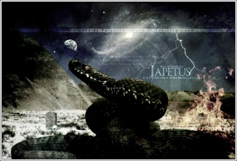 Titanes  Iapetus by Paranoid-PlagueIapetus Greek Mythology