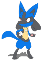 Lucario by sp19047