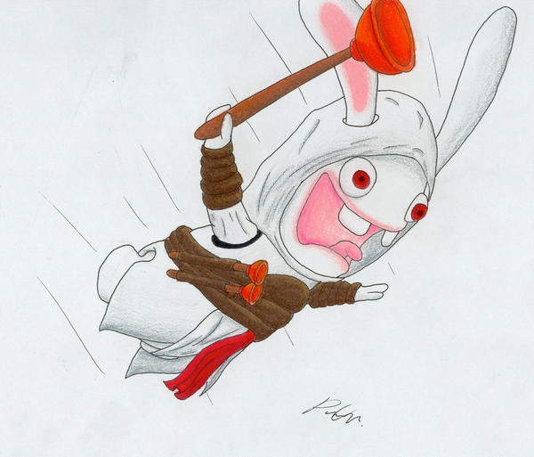 Assassin's Creed...Rabbid? by Utahraptorz