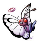 Butterfree by Petradactyl