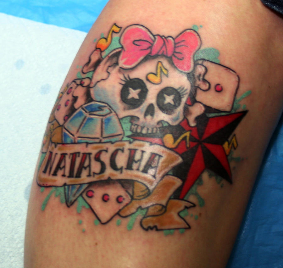 Girly Tattoo By InKCrazy On DeviantArt