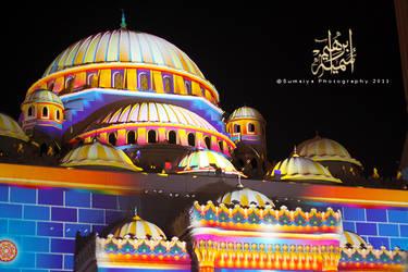 Al Nour mosque by bnateen