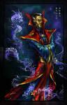 Dr. Strange - Oriental motifs by ILLanthan