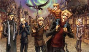 Familjen Aurora