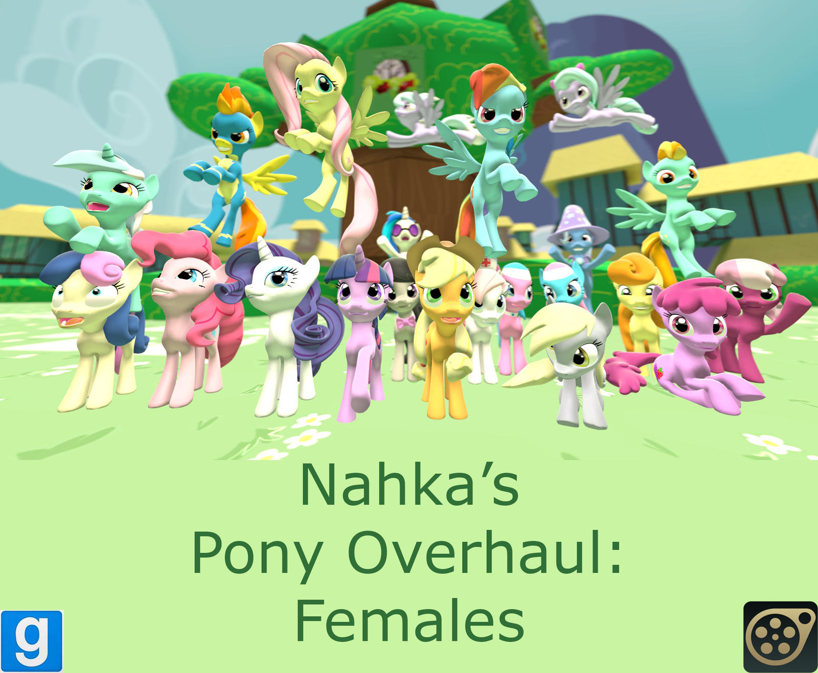 Pony Overhaul: Females Release by Poninnahka
