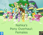 Pony Overhaul: Females Release