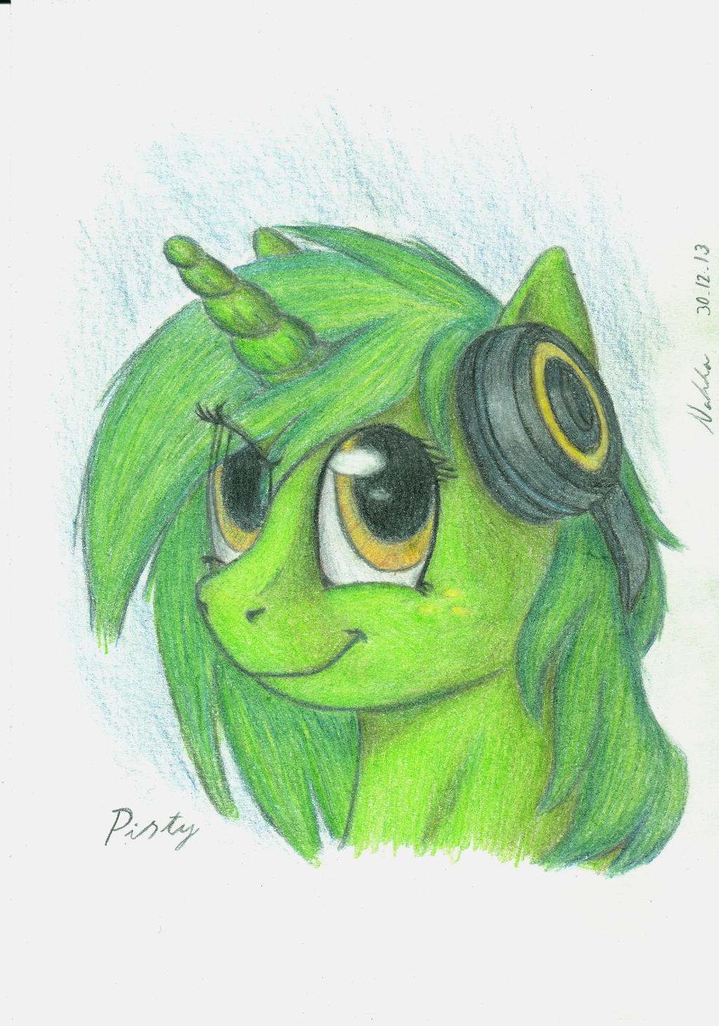 Pisty Portrait by Poninnahka