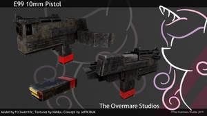 FO:E 10mm Pistol Update