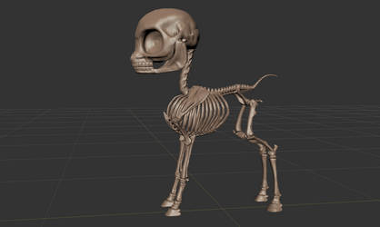 FO:E Skeleton Sculpt