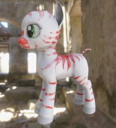 AoE Body Paints: Zebra