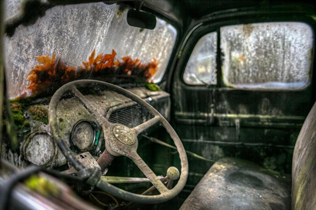 Truck Interior by danporter