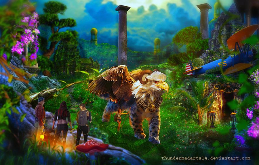 Adventurer: Sacred Guardians by ThunderMadArts14