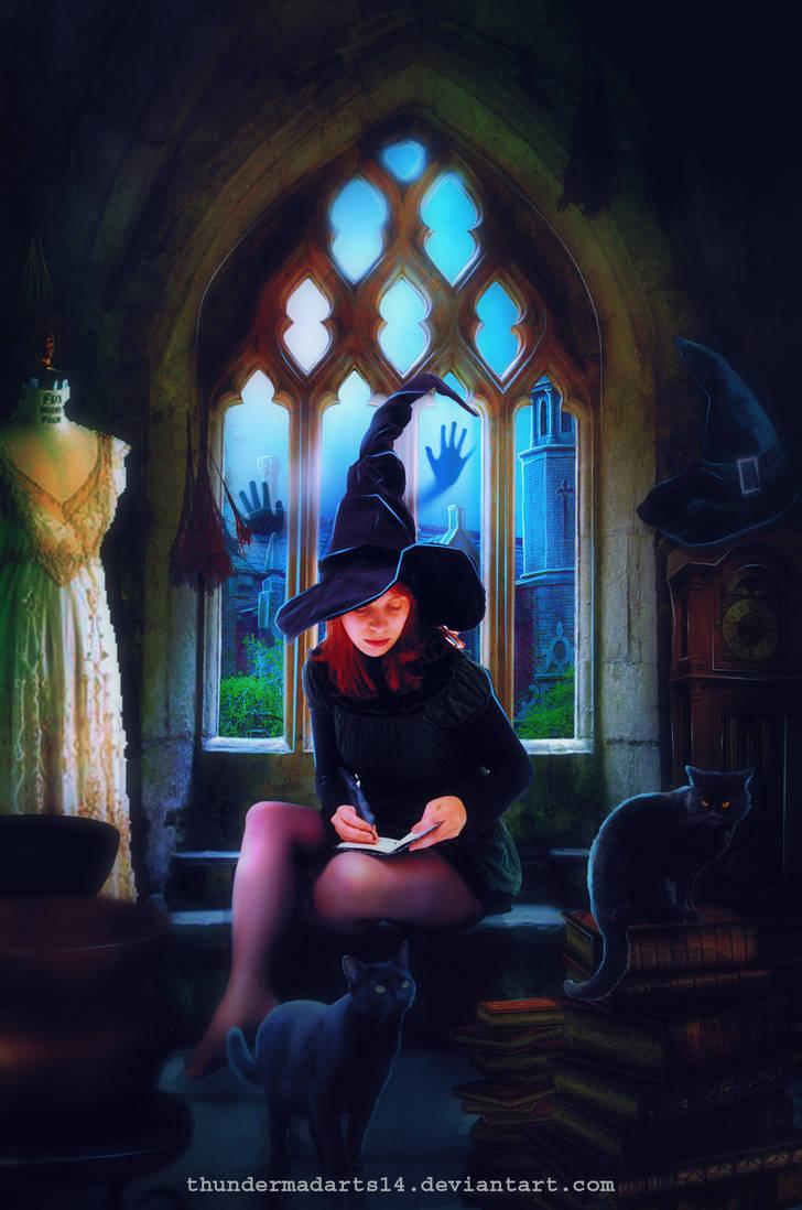 Magic Night by ThunderMadArts14