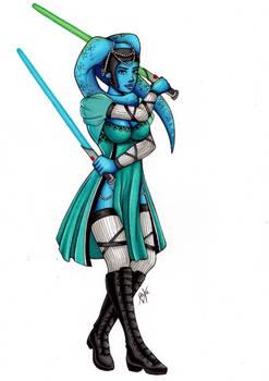 If Raxa was in ... Star Wars !