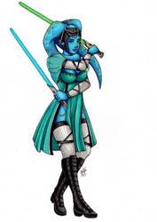 If Raxa was in ... Star Wars ! by RaxaMermaid