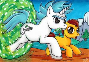 Oh geez we are Ponies Rick !