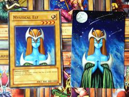 Mystical Elf ( Yu-Gi-Oh Card Repaint )