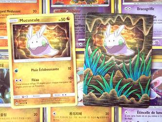 Goomy ( Pokemon Card Repaint )