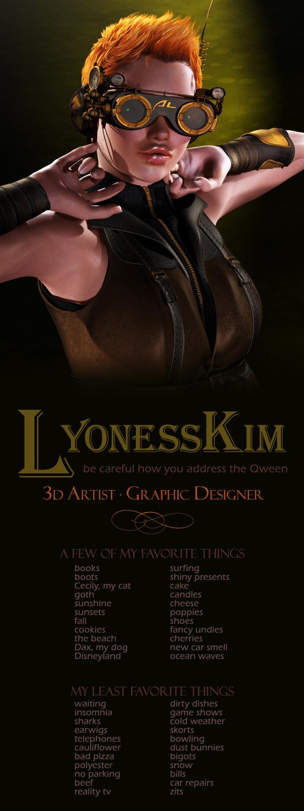 lyonesskim's Profile Picture