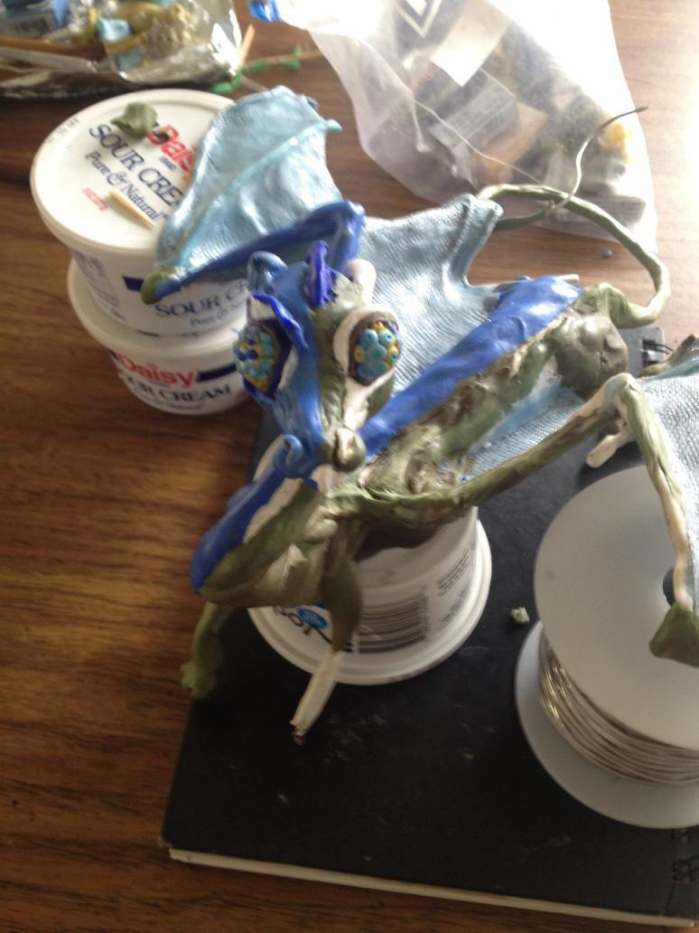 Blue Firelizard by Braendyn