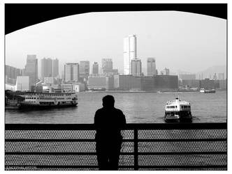 Star Ferry Pier by Encephalartos
