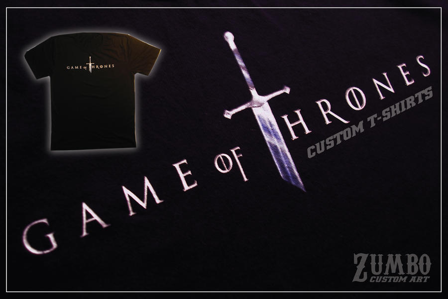 Game of thrones t shirt by chinusmetallicus on deviantart Where can i buy game of thrones t shirts