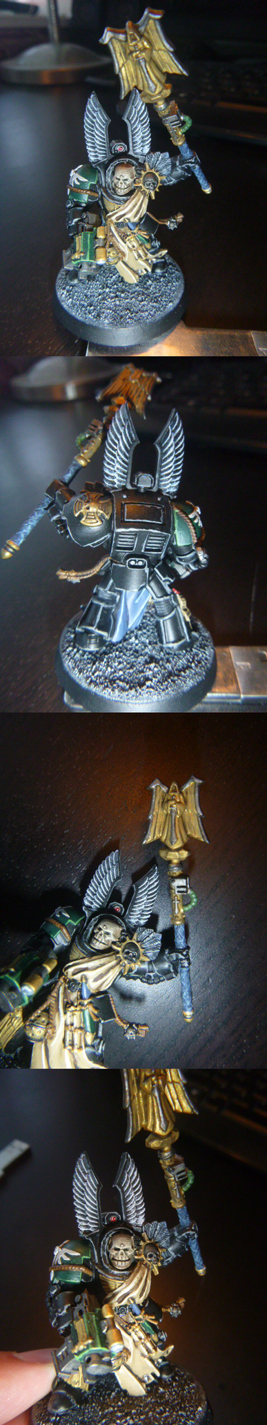 Warhammer 40k - Dark Angel Interrigator-Chaplain by verolesh
