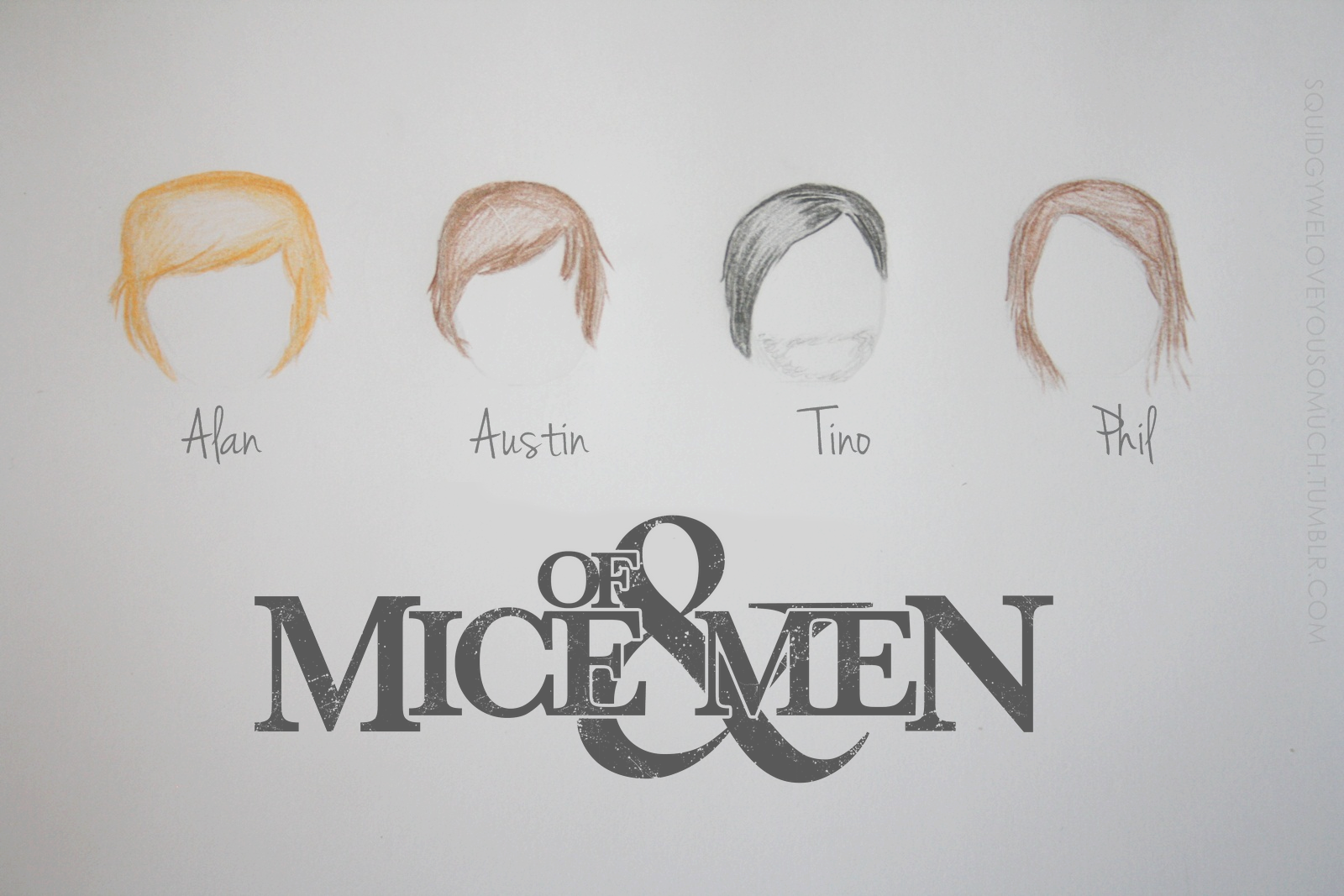 Of Mice and Men Band Poster by MICHA3L26 on DeviantArt